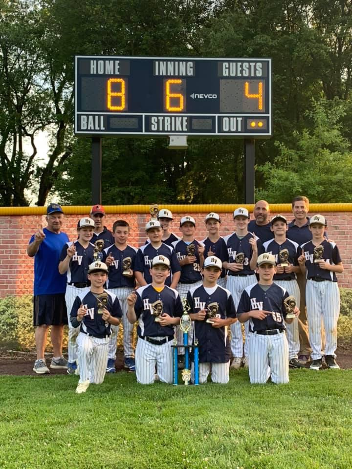 2019 Champs for U12 League