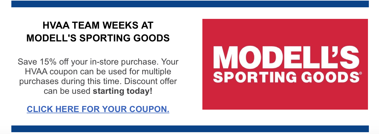 MODELLS COUPON FALL 2019 HVAA