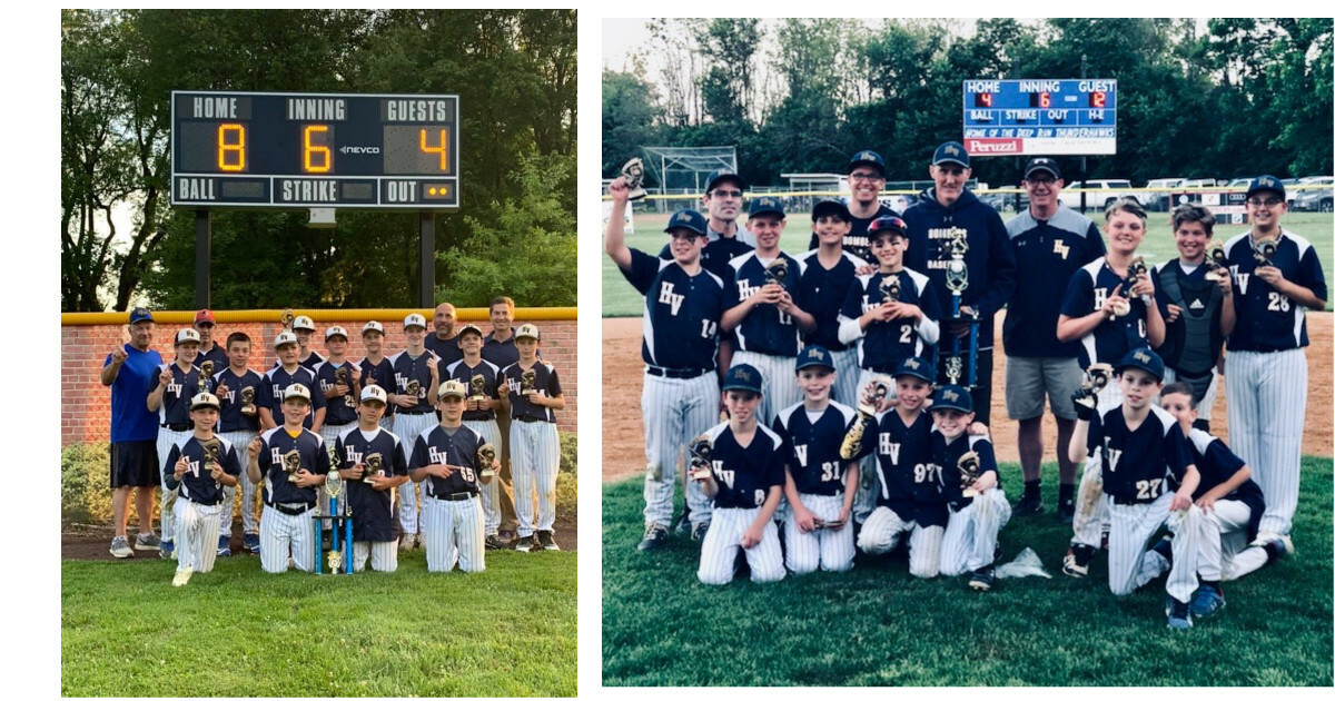Congratulations to Our 12U and 11U Travel Baseball Suburban Leagues 2019 Champions!