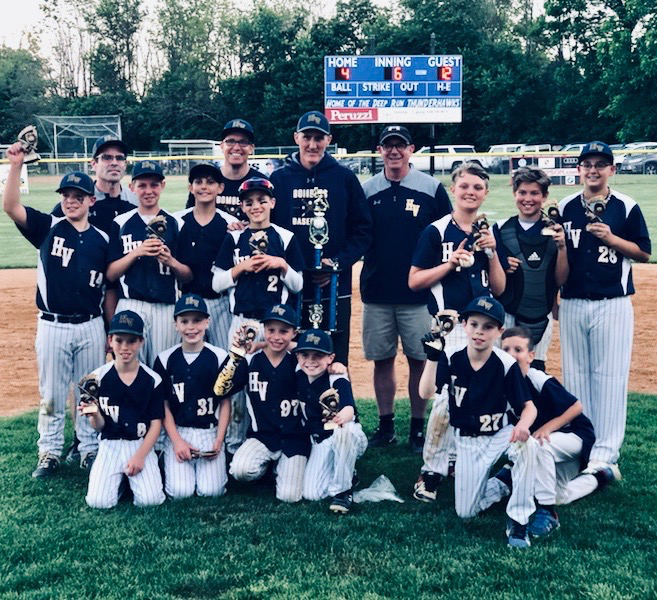 Congratulations to our HVAA Travel Baseball Boys Team! | Huntingdon