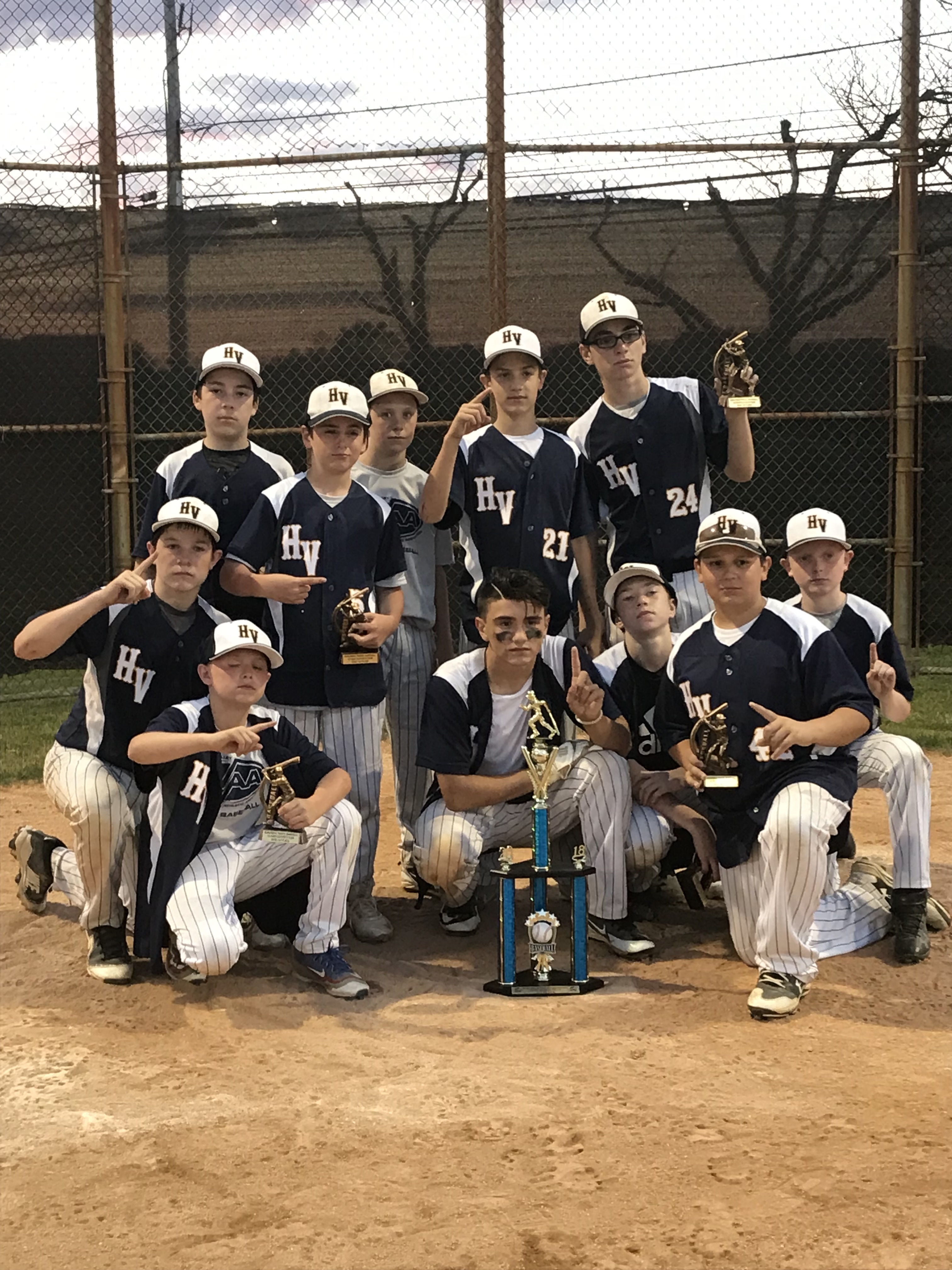 Congratulations to our HVAA Travel Baseball Boys Team